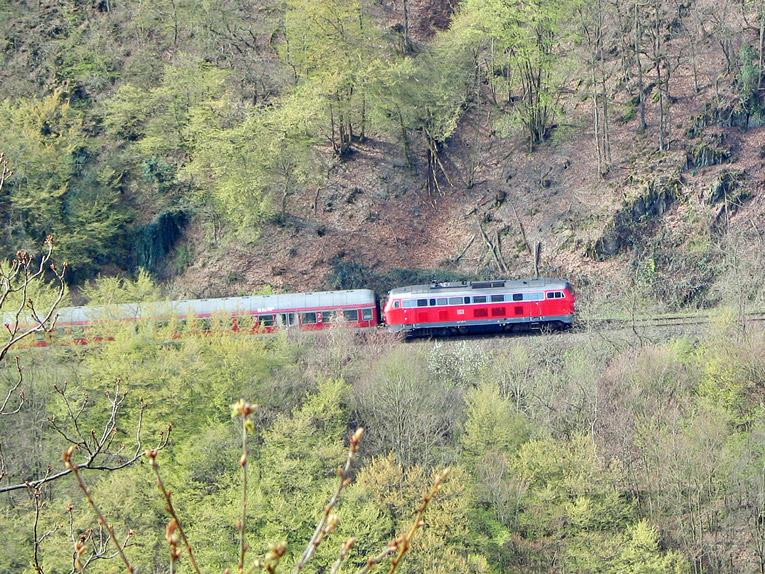 Die Steilstrecke Boppard - Emmelshausen